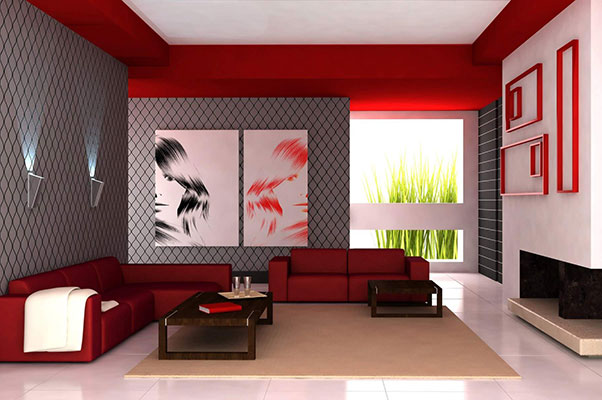 living room wallpaper 600x400